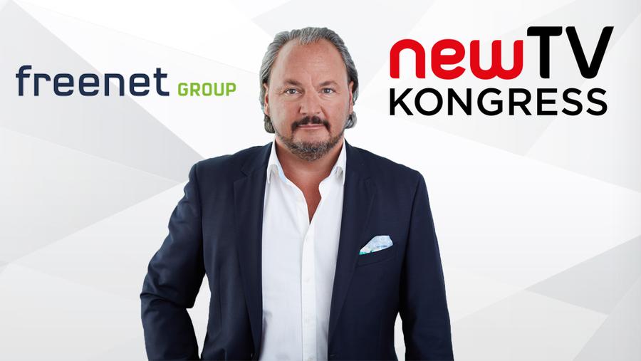 Christoph Vilanek ist seit 2009 CEO bei der freenet Group und Speaker beim newTV Kongress 2018.