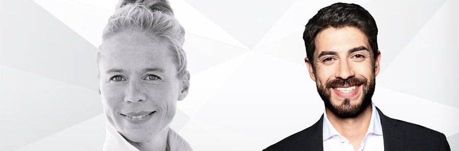 Anke Nehrenberg und Daniel Bröckerhoff sind Botschafter für #dasmitmedien.