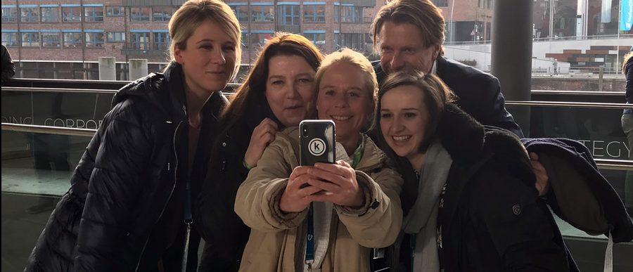 Panel-Selfie: v.l.n.r. Dr. Lisa Wolter, Sabine Hockling, Anke Nehrenberg, Gero Hesse, Angelina Peipers