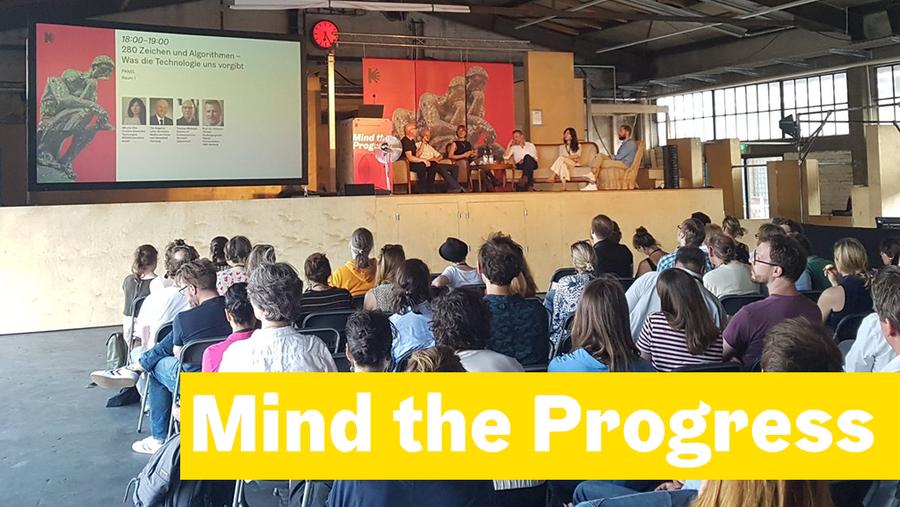 Am 31. Mai und 1. Juni war es so weit: Mit Mind the Progress veranstaltete die Hamburg Kreativgesellschaft in Partnerschaft mit nextMedia.Haburg eine Konferenz rund um Kreativität und Digitalisierung.
