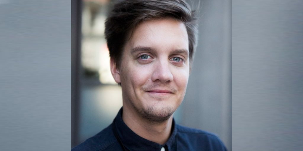 Marius Thorkildsen (Schibsted) ist einer der Keynoter beim zehnten scoopcamp am 28. September 2018