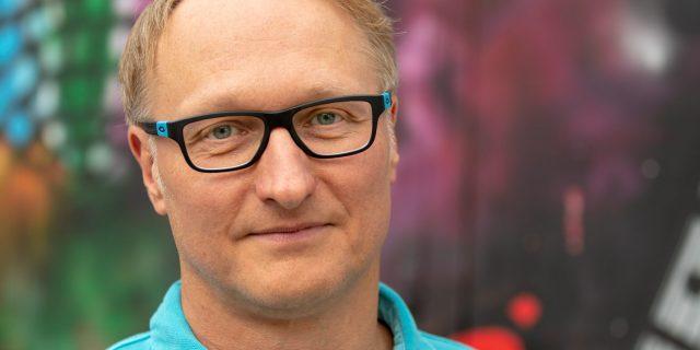 Leiter Digitale Produkte und Dienstleistungen, NOZ Medien und mh:n Medien/HHLab: Joachim Dreykluft. Fotocredits: Marc Schulz/HHLab