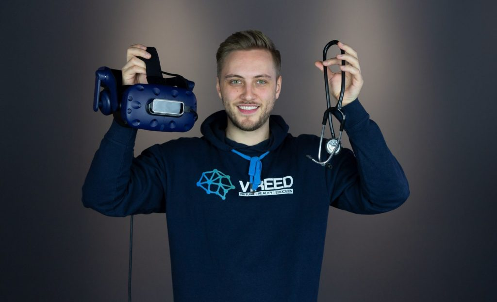 CEO und Co-Gründer von VIREED: Nick Wiese. Fotocredits: VIREED UG