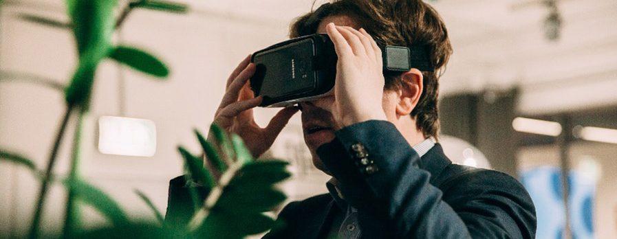 Martin Heller beim VR Bootcamp von nextMedia.Hamburg.