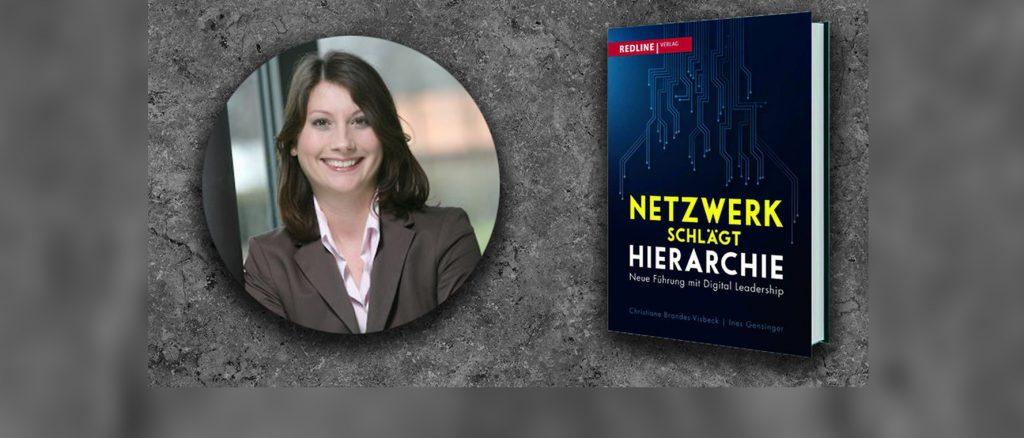 """Ines Gensinger ist Head of Business & Consumer Communications bei Microsoft Deutschland und hat gemeinsam mit Christiane Brandes-Visbeck das Buch """"Netzwerk schlägt Hierarchie"""" geschrieben. Fotocredit: Microsoft Deutschland GmbH"""