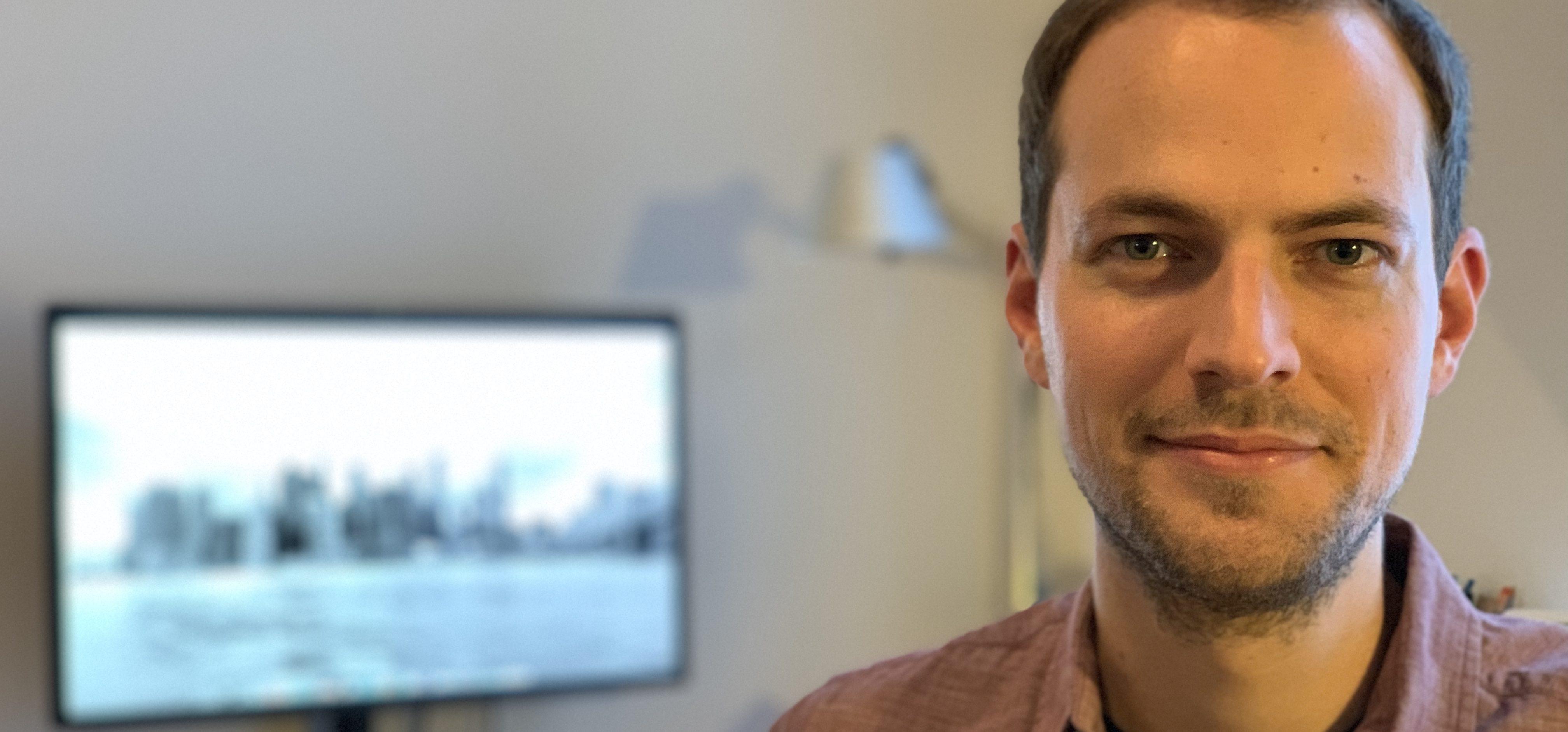Ressortleiter Datenjournalismus bei SPIEGEL ONLINE: Marcel Pauly. Bildcredits: Privat.