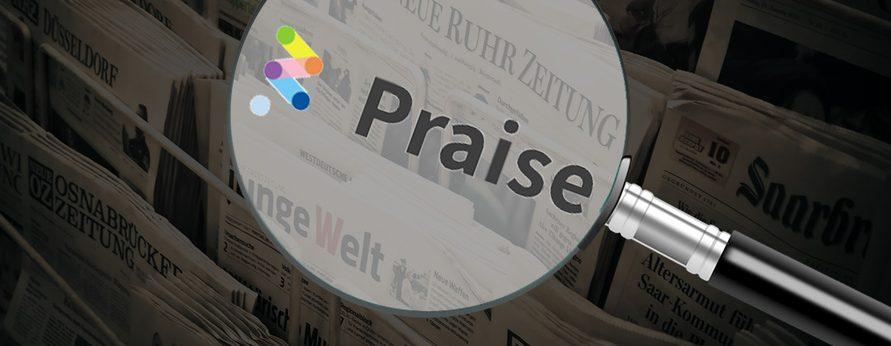 Mehr Orientierung im News-Dschungel verspricht das Start-up Praise. Wir haben mit ihnen gesprochen.