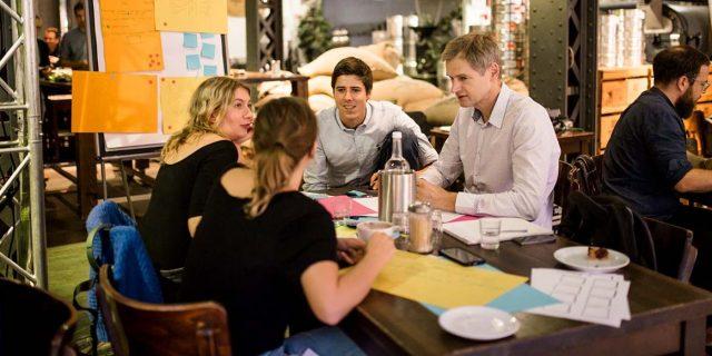 Am 26. April werden Ideen entwickelt und konkretisiert.