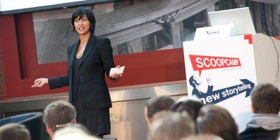 War bereits 2011 als Keynoterin dabei und stattet dem scoopcamp nun einen zweiten Besuch ab: Shazna Nessa.