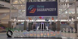 MEDIA LIFT-Team Space Walk war bei der SIGGRAPH 2019 zu Gast.