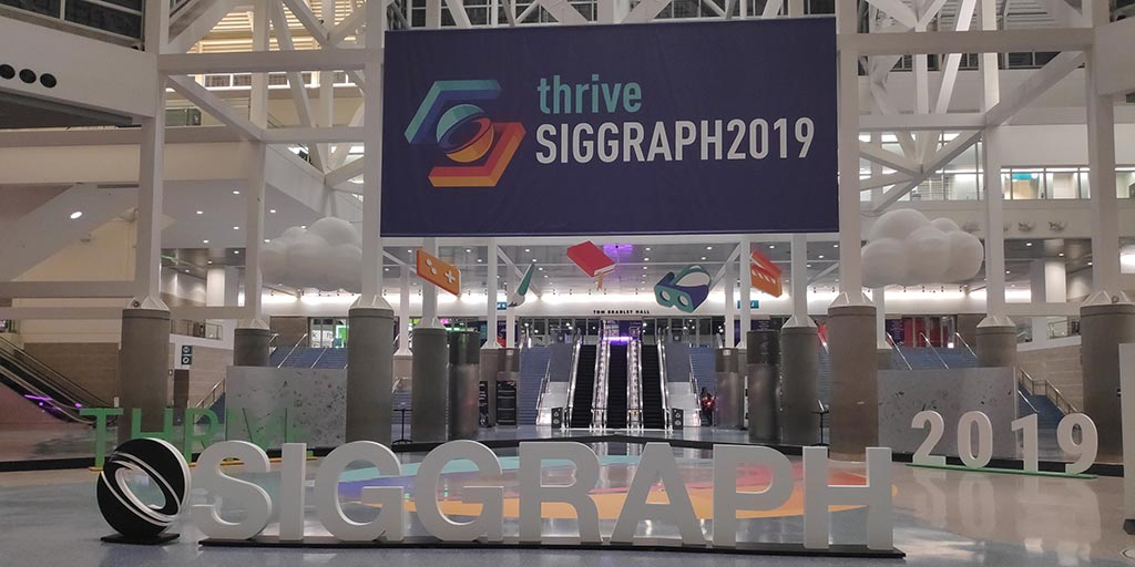 MEDIA LIFT-Team Space Walk war bei der SIGGRAPH 2019 zu Gast.