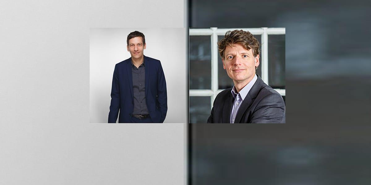 Holger Glockner (links) und Michael Leitl (rechts) beschäftigen sich auch beruflich mit der Zukunft.