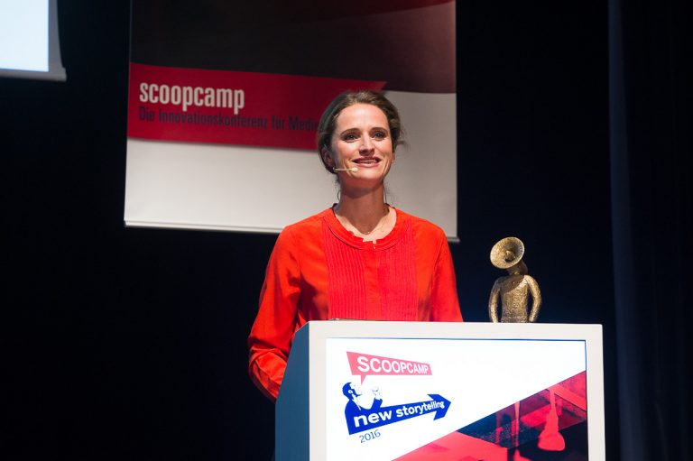 Scoopcamp2016 - new storytelling