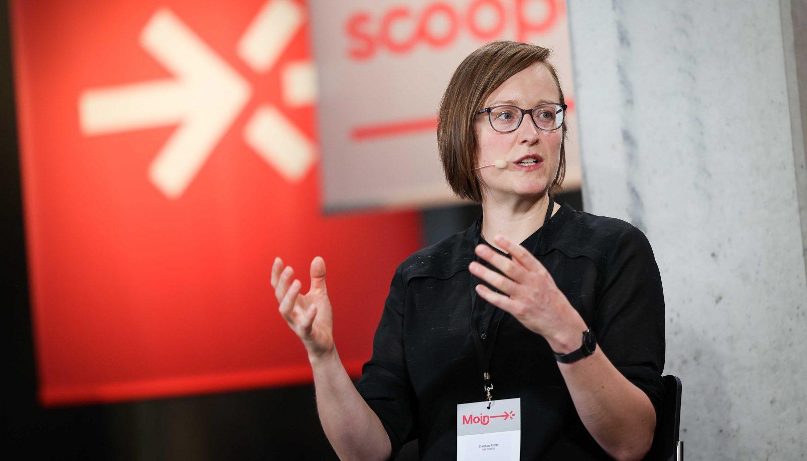 Christina Elmer und Kolleginnen gaben spannende Einblicke in den Maschinenraum von digitalter Transformation.