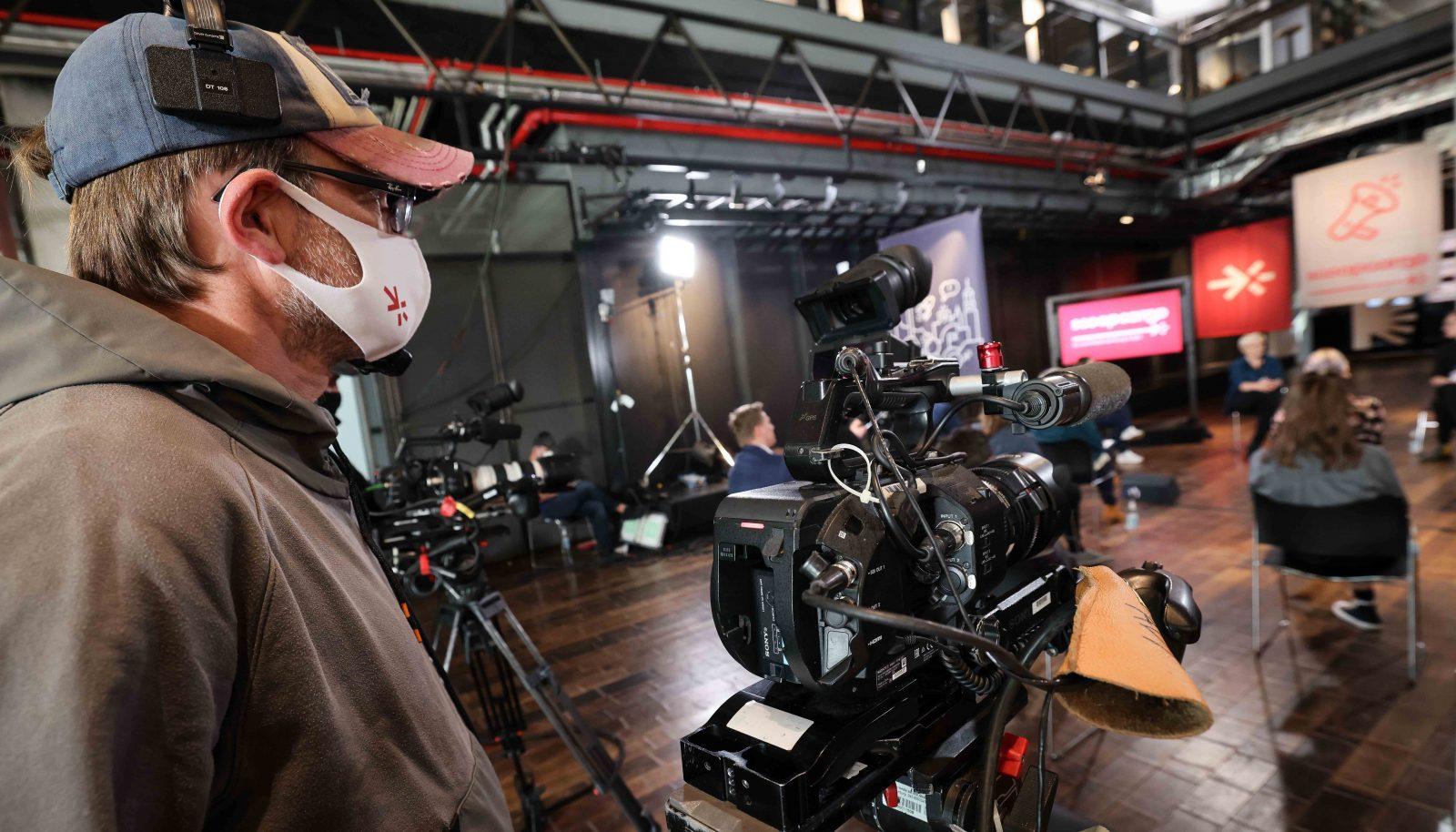 Wie schon die Keynotes wurden auch die Panels via Livestream digital ausgestrahlt.