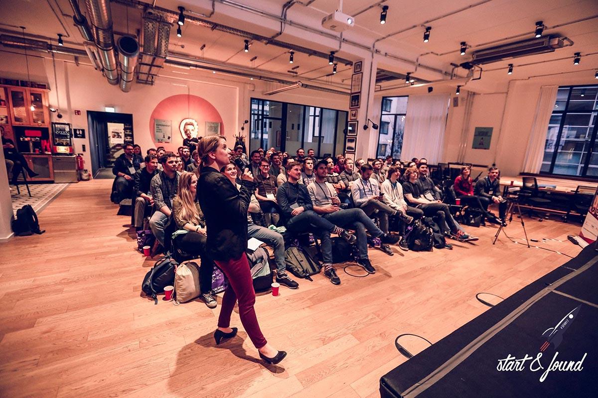 Veronika Reichboth ist national wie international unterwegs, um dem Innovationsstandort Hamburg noch mehr Sichtbarkeit zu verschaffen