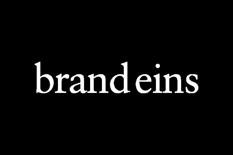 Logo brand eins