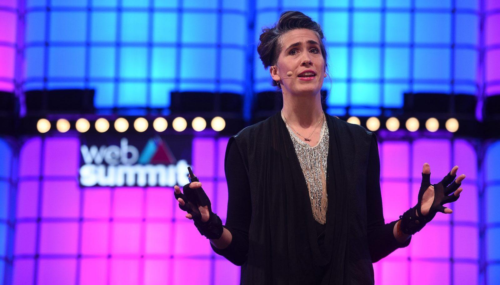 Die britische Musikerin Imogen Heap wünscht sich einen fairen Musikmarkt