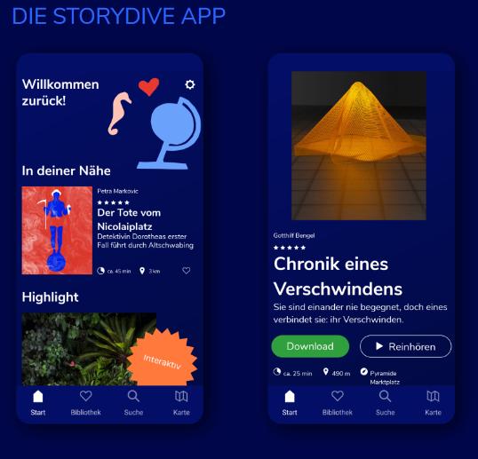 Storydive App