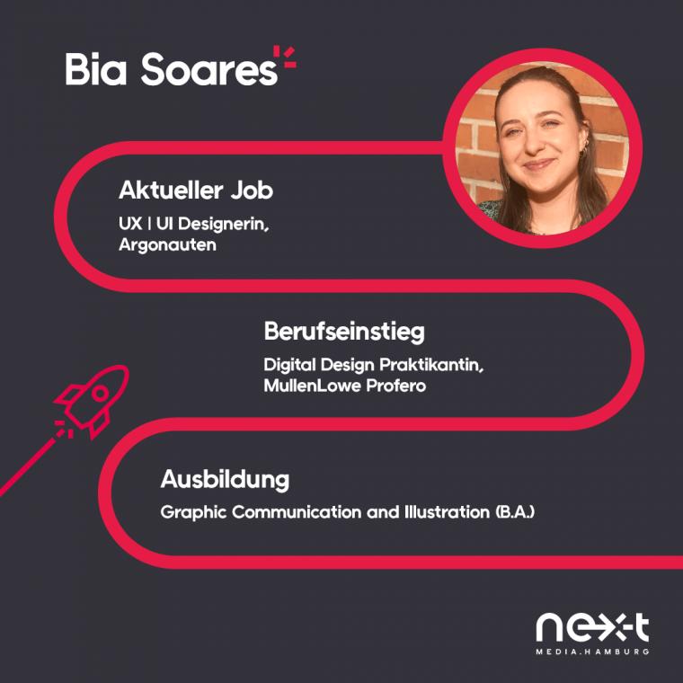 Bia Soares ist UX/UI Designerin bei Argonauten.