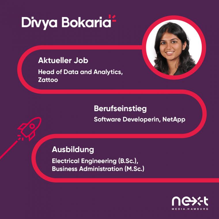 Karrieretipps von Divya Bokaria