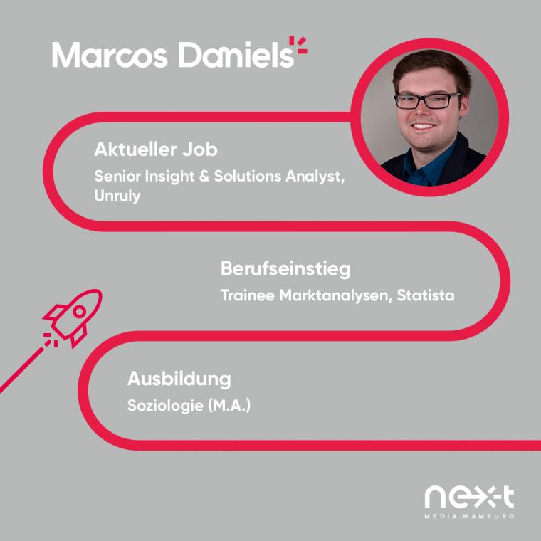 Karrieretipps von Marcos Daniels