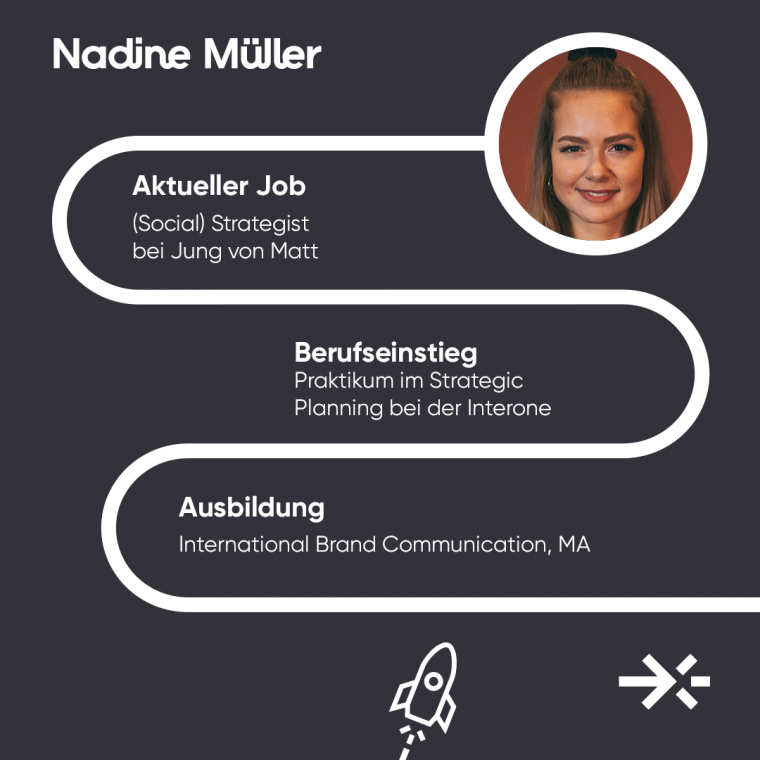 Nadine Müller ist Social Strategist bei Jung von Matt.