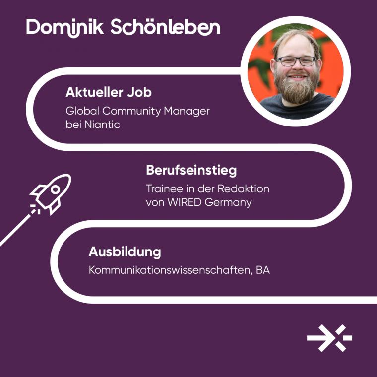 Dominik Schönleben ist Global Community Manager bei Niantic.