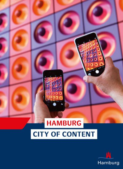 Hamburg City of Content Broschüre